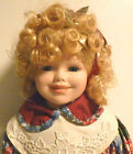Nona Hand Painted & Sewn, Porcelain Collector's Doll, The Wimbledon Collection