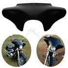 Vivid Black Front Outer Batwing Fairing For Yamaha V Star 650 1100 classic