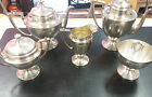 Antique **Sheffield**  1904-1915 Tea Set EPNS #0617 - 5 Pcs. - Excellent
