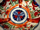 early JAPANESE IMARI BOWL scalloped MEIJI 1868 – 1912 repeated 3 panels UNMARKED