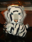 WHITE TIGERS - Mother and Baby Cub Realistic Plush Stuffed