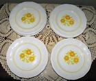 KENSINGTON STAFFORDSHIRE IRONSTONE PICCADILLY PATTERN BREAD & BUTTER PLATES (8)