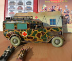 #Antique Tin Toy#1930 TippCo Wehrmacht Ambulance Car Germany Hausser Elastolin