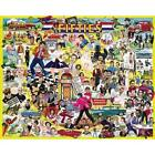 White Mountain Puzzles The Fifties - 1000 Piece Jigsaw Puzzle New