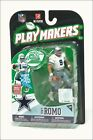 TONY ROMO Mcfarlane PLAYMAKERS Series 1 NFL Dallas Cowboys Action Figure NEW