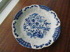 Flow Blue Ormonde W&E Corn Porcelain Royale Plate Dish Embossed 1904 29-1