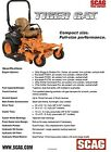 NEW 2015 SCAG TIGER CAT 52 COMMERCIAL GRADE ZERO TURN LAWN MOWER