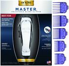 Andis Master ML Clipper #1557 +5 pack Andis Nano DOUBLE Magnetic Comb Set #01410