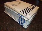 NEW HOLLAND 1998 SERVICE BULLETIN JOURNAL COMPLETE SET OF MANUALS