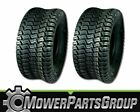 D529 (2) 15x6.00-6 Tires 4 Ply Lawn Mower 15-6.00-6 Turf Master Style Tread