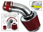 Sport Air Intake Kit+RED Filter For 90 93 Isuzu Impulse Geo Storm 16L 18L L4