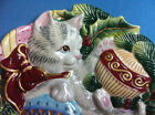 Fitz and Floyd Kristmas Kitty Holiday plate