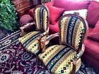 PAIR Louis XV  EARLY  Reproduction French Chairs
