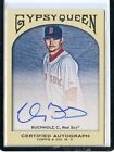 2011 GYPSY QUEEN #GQA-CB CLAY BUCHHOLZ ROOKIE RC AUTOGRAPH BOSTON RED SOX 021715