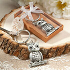 Cute Owl Key Chain Baby Shower Favors Baptism Wedding Favors Keychain