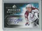 2010 11 Upper Deck SP Game Used Kevin Shattenkirk Rookie RC Autograph # 100