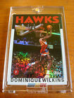 2005-06 DOMINIQUE WILKINS 10 CHROME AUTO TOPPS STYLE FAN FAVORITES REFRACTOR