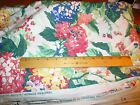 WAVERLY NEWSTEAD Bermuda Collection Beach Cottage Floral Fabric 54