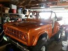 Ford  Bronco 4 Wheel Drive 1974 ford convertible 156000 miles 2 door v 8 automatic 4 wd dvd everthing new
