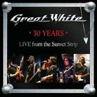 GREAT WHITE - 30 YEARS-LIVE FROM THE SUNSET STRIP  CD  11 TRACKS ROCK/METAL NEW+