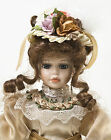 Victoria Rose Beautiful Victorian Porcelain Collectable Doll Excellent Condition