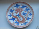 Antique China Qing Dynasty Porcelain Dish with a Beautiful Dragon