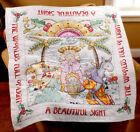 Bucilla Stamped Cross Stitch Beautiful Sight Lap Quilt Kit 86192 Xmas Nativity