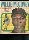 1970 Topps Pin up Poster Willie McCovey Giants #7 of 24 NM-MINT Super Sharp