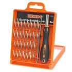 32PC PRECISION SCREWDRIVER SET PHILLIPS TORX SLOTTED HEX CRV BITS WITH TWEEZERS