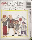 UNCUT McCall's - JUMPING BEANS - CHILDRENS - sz 4,5,6.  Sewing Pattern from 1993