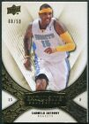 2008 09 Upper Deck Exquisite Collection Gold #5 Carmelo Anthony 8 50
