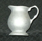 VINTAGE  PEWTER SMALL CREAM PITCHER **PEWTER HOARD**
