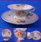 Vintage? Antique? Delicate Floral & Butterfly Cup and Saucer-Fine Detail