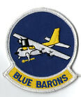 PATCH usaf 62nd Tactical Airlift Sq BLUE BARONS   PARCHE