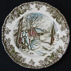 SUGAR MAPLES The Friendly Village Bread & Butter Plate Johnson Bros England 7759
