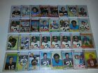 1970's Football Star, HOF Lot of 375 Cards in Toploaders w Staubach, Payton