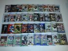 Football Lot of 345 Cards in Toploaders w Stars, Inerts, Emmitt, Favre, Elway