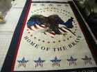 American Eagle By Northcott-Panel w/2 Bindings & Backing-Kit-Stars & Stripes