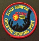 1984 Scout Show Patch - Catch the Scouting Spirit - Greater New York Councils