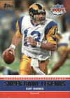 2011 Topps Super Bowl Legends #SBLXXXIV Kurt Warner - NM-MT