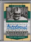 2004 UPPER DECK #LS-CB CLIFF BRANCH AUTOGRAPH OAKLAND RAIDERS 3285