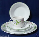 5 pc Place Set Corelle Delicate Array Corning DINNER SALAD LUNCHEON CUP BOWL