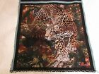 Leopard African Jungle wildlife animal big cat Tapestry Fabric Pillow top Panels