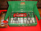Vintage Heavy Duty Coleman 413G -Burner Camp Stove with, Fuel Funnel