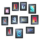 Eleven Framed Matted Photographs Chalk Drawing Collection Ready To Go 0011010