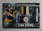 05 ABSOLUTE MEM.BEN ROETHLISBERGER 3-COLOR GAME USED JERSEY PATCH #ED TO 150!