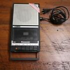 Panasonic RQ-2732 Black Slimline AC/Battery Cassette Recorder w/ Handle WORKS