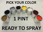 Pick Your Color - Ready To Spray - 1 Pint Of Paint For Ford Car Truck Suv Pt Rts