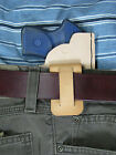 Leather IWB holster for the Ruger LCP or Kel Tec P3 AT