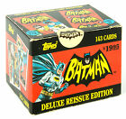 TOPPS Batman 1966 Deluxe Reissue Edition Complete 143 Cards Set Unopened